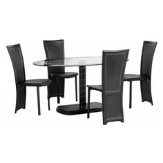 Cameo Oval Dining Set for Four