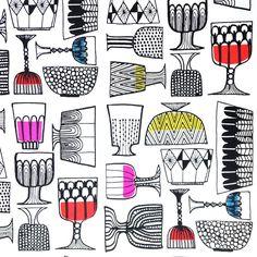 Marimekko Kippis Wallpaper