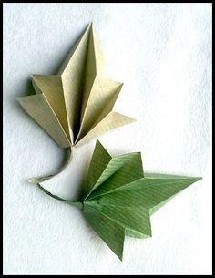 Diagrams: 5-Point Leaf | OrigamiUSA