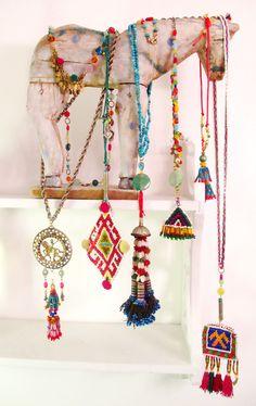http://www.etsy.com/shop/InspiraMetroJewelry - https://www.pinterest.com/miccicohan/pins/ - etsy - jewelry - bohemian - tassels - ethnic necklaces - Micci Cohan NYC Jewelry