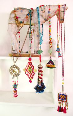 http://www.etsy.com/shop/InspiraMetroJewelry - https://www.pinterest.com/miccicohan/pins/ - etsy - jewelry - bohemian - tassels - ethnic necklaces - Micci Cohan NYC Jewelry