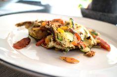 gemüse omelette Superfood, Vegan, Omelette, Baked Potato, Brunch, Potatoes, Baking, Breakfast, Ethnic Recipes