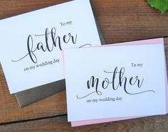 Hey, I found this really awesome Etsy listing at https://www.etsy.com/listing/268117694/to-my-mother-card-to-my-father-card