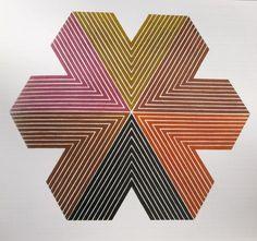 Pierre-Jean Maurel - hazymoongallery:    Frank Stella    paintngstogo.com