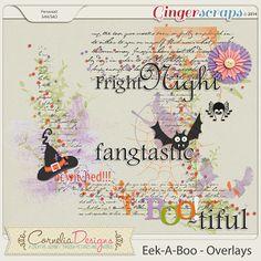 Eek-A-Boo - Overlays by Cornelia Designs