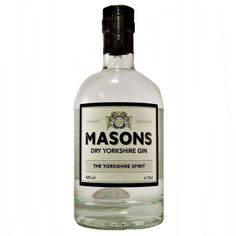 Masons Yorkshire Gin is a dry London gin available to buy online at specialist…