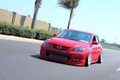 mazda-speed3-red-rotiform-tmb - Rides & Styling