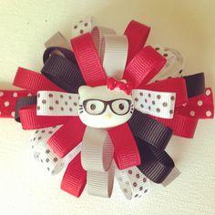 Hello Kitty baby bow headband