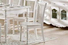 Elegant European style dining chair - MelodyHome.com