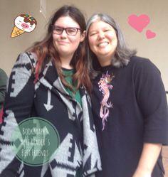 Io e la sorridentissima e bravissima Julie Kagawa a #BCM2015 !  Venite a leggere la mia intervista con lei ;) http://bookmarksarereadersbestfriends.blogspot.it/2015/10/intervista-julie-kagawa-bcm2015.html?m=1