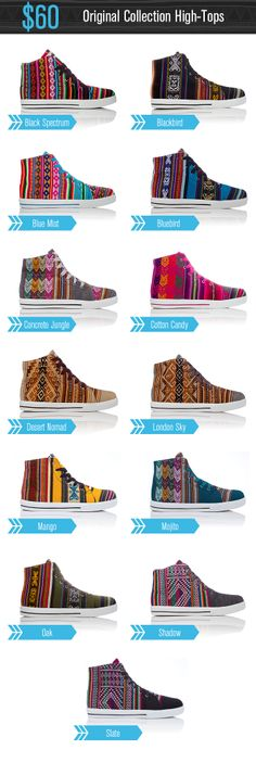 INKKAS - Colorful Handmade South American Sneakers! by Inkkas — Kickstarter
