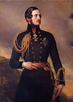 Prince Albert, Consort of Queen Victoria He's a handsome German fellow. My favorite. @Hannah Jones