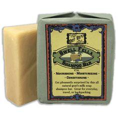 Swell Fella: Shampoo Bar, goat's milk soap, lavender
