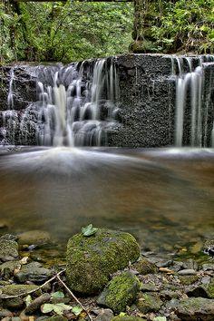 Lythe Beck Waterfall ~ Grosmont, England