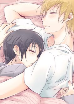 Haruhi x Tamaki? I'm not a big fan of all the shipments in Ouran ( I really like how the host club was a family, and to me, that was more important than any of the couplings) but this is cute!