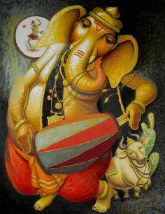 Ganesha by Surendra Pal Singh