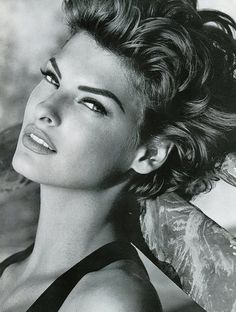 Supermodel Linda Evangelista To me she is the most beautiful model in history!