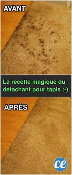 La Recette Magique du Détachant Pour Tapis (Facile à Faire et Naturelle).