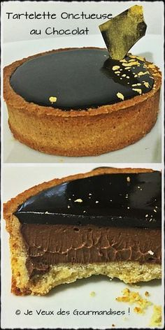If there is a dessert that Mr GourmanD loves is the chocolate pie. Personally it is not a dessert that I particularly like, I often find the g … Mini Desserts, Christmas Desserts, Delicious Desserts, Pastry Recipes, Cake Recipes, Dessert Recipes, Creative Desserts, Cake & Co, Something Sweet