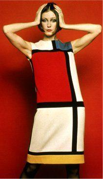 #YvesSaintLaurent #Mondrian dress