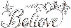 want/believe