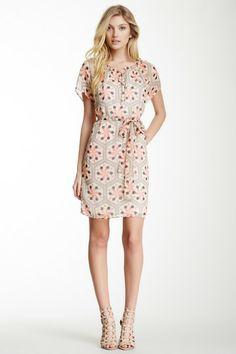 Printed Peasant Dress by Tulle on @HauteLook