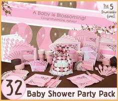 baby shower ideas for girls | Baby Shower Party Supplies