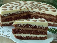 Polish Desserts, Polish Recipes, Cheesecakes, Cake Cookies, Sweet Recipes, Deserts, Food And Drink, Yummy Food, Sweets