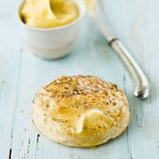 Homemade crumpets with burnt honey butter - Marcus Wareing - enjoycountrylife uk Best Afternoon Tea, Afternoon Tea Recipes, Homemade Crumpets, Marcus Wareing, Crumpet Recipe, Honey Butter, Baking Recipes, Baking Ideas, Bread Recipes