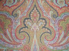 victorian paisley shawl c. 1870 via windham textile & history museum.