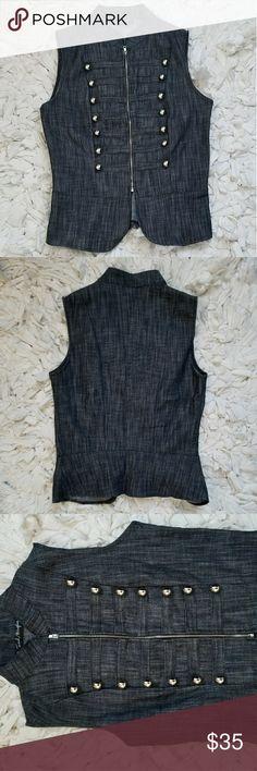 Trendy Vintage Denim Vest(FINAL SALE) Vintage Denim Vest. Excellent Condition! Jackets & Coats Vests