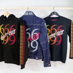 "CONCRETE-EATER apparel ""666"" serie"