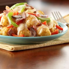 Philly Cheesesteak Totchos Recipe from Land O'Lakes