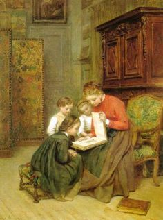 The Family Album  - by Pierre Edouard Frère