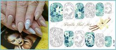 Vanilla Nail Art USA nail decals - find us on Facebook