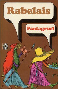 Pantagruel, published by Le Livre de Poches, Paris, 1972. Design: Pierre Faucheux