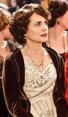 Downton Abbey Fashion Exhibit: Lady Cora Crawley, Countess of Grantham