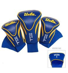 UCLA Bruins Contour Gollf Club HeadCover - 3 Pack