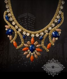 Fashion necklace by Bitter Sweet Jewellery. #fall #2013 #fashion # ...
