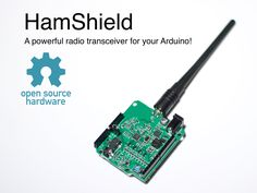 HamShield lets your Arduino talk to far away people and things using amateur radio bands (Coverage: 136-170MHz, 200-260MHz, 400-520MHz)