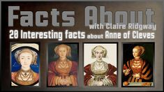 Anne Of Cleves, King Henry Viii, Ted Talks, Tv Videos, Documentaries, Fun Facts, Tv Shows, Funny Facts, Tv Series