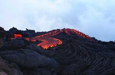 Hiked this volcano and roasted marshmallows in that lava   --Pacaya Volcano, Guatemala