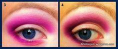 Glitter Eye Step 3 & 4