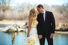 River front wedding #weddingstyle