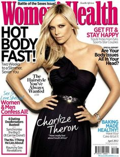 Charlize Theron - Women's Health South Africa Magazine (April 2012)