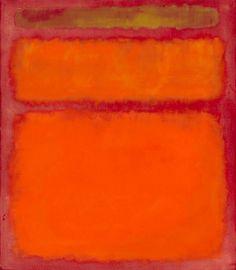 Orange, Red, Yellow, (1961) by Mark Rothko