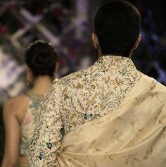 All in the details l The Vintage Garden l Couture 2016 #varunbahl #VB #varunbahlcouture #indianweddings #indianoutfit #indianbridegroom #couture #wedding #weddinginspiration #indianfashion #fashion #womensfanshion #theweddingdiaries #traditions #elegance #elegant #floral #inspiration #bridesmaid #thevintagegarden #ICW2016 #menswear #dulha #kurta #sherwani #details
