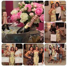 Começando o dia agradecendo a presença de todos que estiverem conosco ontem , conferindo nossa coleção verão 2015 !!!! Daqui a pouco tem mais!!!!! #muitofeliz#verão2015#flores — em Manga Rosa.