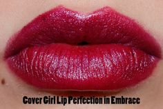 Cover Girl Lip Perfection in Embrace