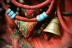 Anatolian prayer & bell necklace  Tibet This site has beautiful beadwork from different periods of time and from all over the world.